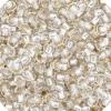 Czech Seedbead 11/0 Crystal Silverlined